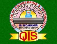 QIS College of Engineering and Technology, [QISCET] Prakasam logo