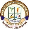 Radha Govind University, [RGU] Ramgarh logo