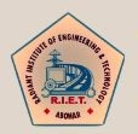 Radiant Institute of Engineering and Technology, [RIET] Abohar logo