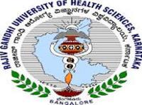 Rajiv Gandhi University of Health Sciences, [RGUHS] Bangalore logo