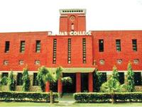 Ramjas College, Delhi University logo