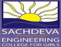Sachdeva Engineering College For Girls, [SECG] Mohali logo