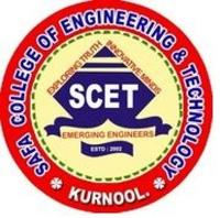 Safa College of Engineering and Technology, [SCET] Kurnool logo