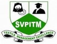 Sardar Vallabhbhai Patel International School of Textiles and Management, [SVPISTM] Coimbatore logo