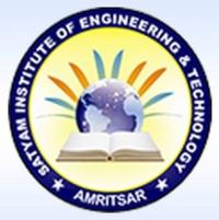 Satyam Institute of Engineering and Technology, [SIET] Amritsar logo