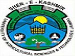School of Agri Bbusiness Management, Jammu logo