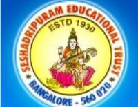 Seshadripuram College, [SC] Bangalore logo