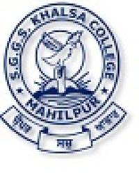 SGGS Khalsa College, Mahilpur logo