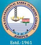 Shah Goverdhan Lal Kabra Teachers College, Jodhpur