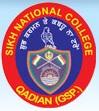 Sikh National College, [SNC] Gurdaspur logo