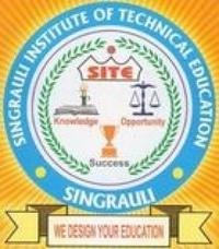 Singrauli Institute of Technical Education, [SITE] Sidhi logo