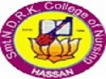 Smt NDRK College of Nursing, Hassan logo
