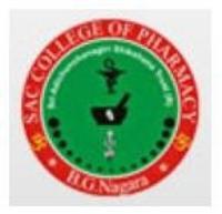 Sri Adichunchanagiri College of Pharmacy, [SACP] Mandya logo