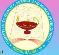 Sri Gokulam College of Nursing, [SGCON] Salem logo
