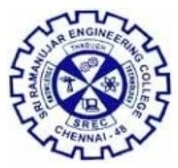 Sri Ramanujar Engineering College, [SREC] Chennai logo
