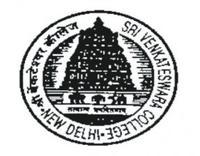 Sri Venkateswara College, Delhi University, New Delhi logo