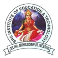 SRS Institute of Education and Technology, Meerut logo