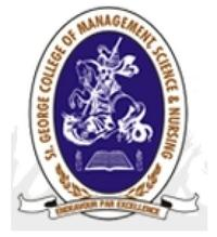 St George College of Management Science and Nursing, [SGCMSN] Bangalore logo