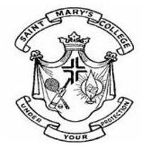 St Mary's College, [SMC] Udupi logo