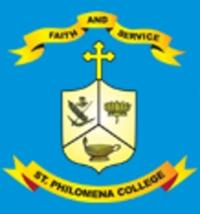 St Philomena College, Puttur logo