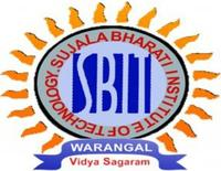 Sujala Bharathi Institute of Technology, [SBIT] Warangal logo
