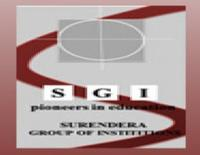 Surendra Group of Institutions, [SGI] Ganganagar