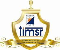 Thakur Institute of Management Studies and Research, [TIMSR] Mumbai