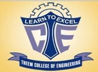 Theem College of Engineering, [TCE] Thane logo