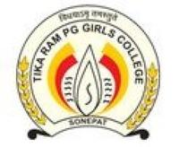 Tika Ram PG Girls College, [TRPGGC] Sonepat