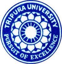 Tripura University, [TU] West Tripura logo