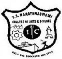 TS Narayanaswami College of Arts and Science, Chennai logo