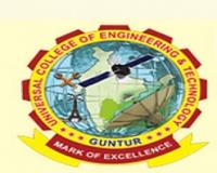 Universal College of Engineering and Technology, [UCET] Guntur logo