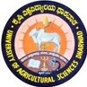 University of Agricultural Sciences, [UAS] Dharwad logo