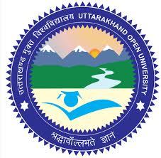 Uttarakhand Open University, [UOU] Dehradun logo