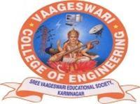Vaageshwari College of Engineering, [VCE] Karimnagar logo