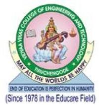 Vidyaa Vikas College of Engineering and Technology, [VVCET] Namakkal logo