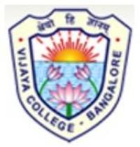 Vijaya Degree College, [VDC] Bangalore logo