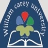 William Carey University, [WCU] Shillong logo
